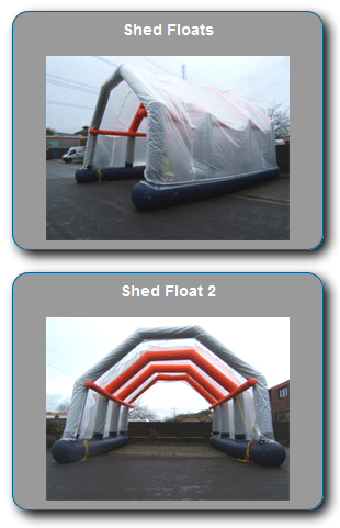 Shed floats from Flexitec Limited